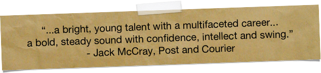 """...a bright, young talent with a multifaceted career... 